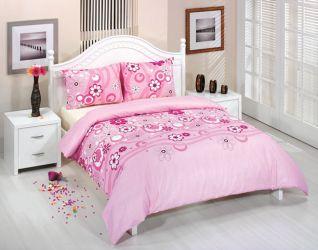 Комплект «25753» 200*215  розовый