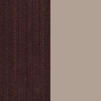 Цветовая гамма Дуб венге бронз   Серый глянец