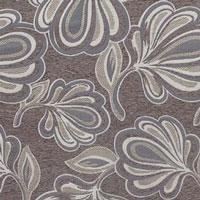 Жаккардовый шенилл Canada 3Flowers-brown