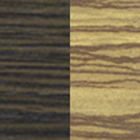 Вариант цвета Венге магия - Зебрано африканское