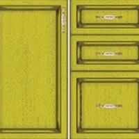 Вариант цвета фасада Лимон
