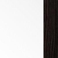 Цветовая гамма Белый | Белый блеск + дуб венге магия