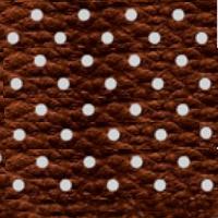 Экокожа перфорированная - 2 категория коричневый