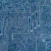 Шенилл - Тетрис - 3 категория 6025-Blue