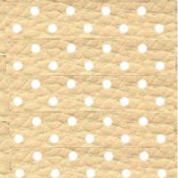 Экокожа перфорированная - 2 категория песочный