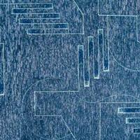 Шенилл Тетрис 6025-Blue